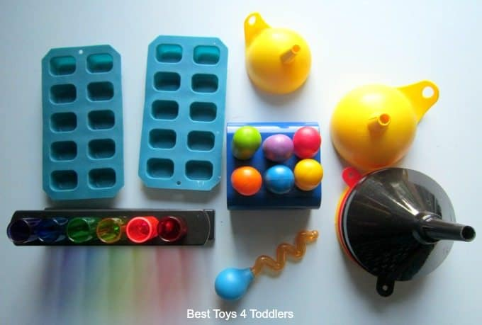 Water sensory play equipment