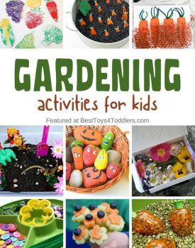 33 ideas for gardening activities for kids - explore garden through play, learning activities, arts and crafts!
