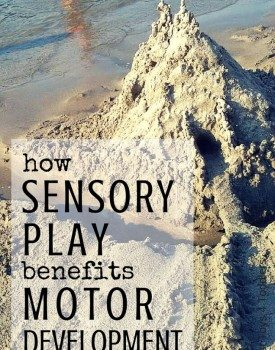 How Sensory Play Benefits Motor Development