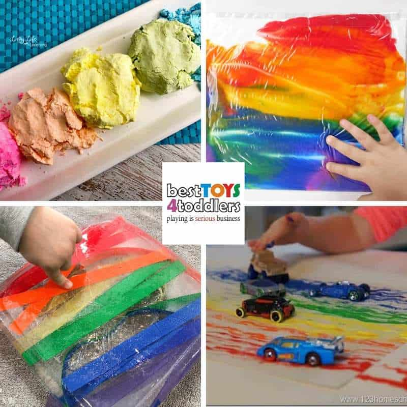 rainbow play ideas for toddlers and preschoolers