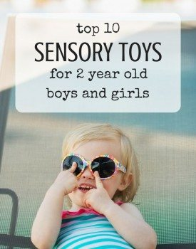 Best Toys 4 Toddlers - Top 10 sensory toys for 2 year olds (gender neutral)