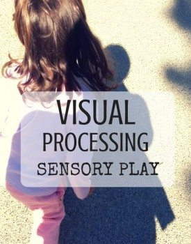 Best Toys 4 Toddlers - Ideas for sensory play with kids to work on visual processing