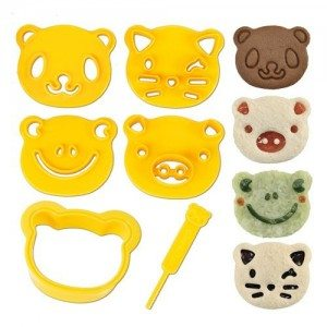 Best Toys 4 Toddlers - Top 10 Items to Satisfy Every Picky Eater - Animal Friends Food Cutter and Stamp Kit
