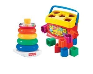 Best Toys 4 Toddlers - Top 10 Toys That Promote Fine Motor Skills for 1 Year olds - blocks and rock stack