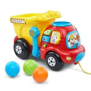 Best Toys 4 Toddlers - Top 10 Toys That Promote Fine Motor Skills for 2 Year olds - drop and go dump truck