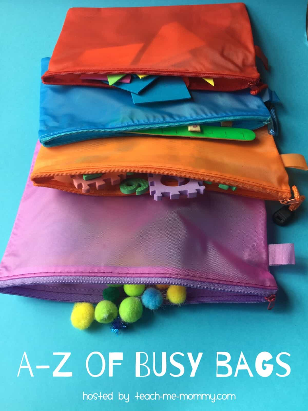 The A-Z of Busy Bags