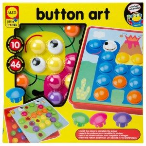 Best Toys 4 Toddlers - Top 10 Toys That Promote Fine Motor Skills for 4 Year olds - Button Art