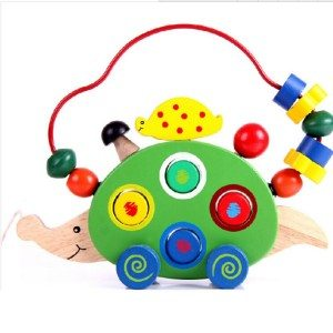Best Toys 4 Toddlers - Top 10 Toys That Promote Fine Motor Skills for 3 Year olds - Animal Car and Bead Maze