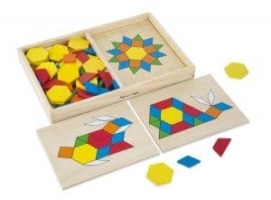 Best Toys 4 Toddlers - Top 10 Toys That Promote Fine Motor Skills for 4 Year olds - Pattern Blocks