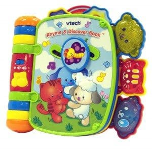 Best Toys 4 Toddlers - Top 10 Toys That Promote Fine Motor Skills for 1 Year olds - Rhyme and Discover book