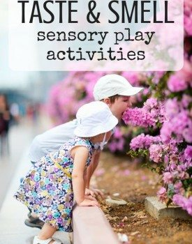 Best Toys 4 Toddlers - Taste and Smell Sensory Play Activity Ideas for Kids to Explore