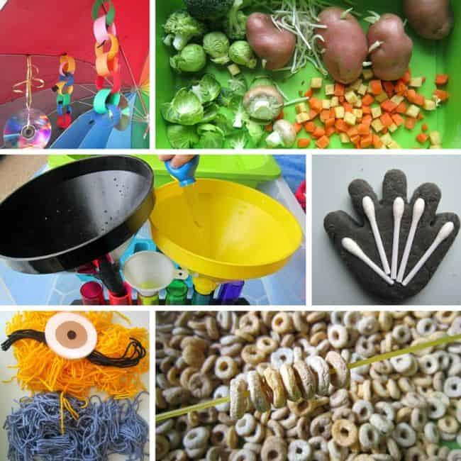 Best Toys 4 Toddlers - UVWXYZ sensory play (umbrella, veggies, water, x-rays, yarn, zero)