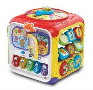 Best Toys 4 Toddlers - Top 10 Toys That Promote Fine Motor Skills for 2 Year olds - sort and discover activity cube