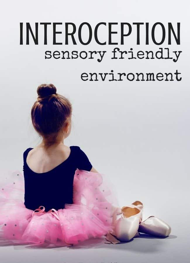 Best Toys 4 Toddlers - Interoception and how to set up sensory-friendly environment