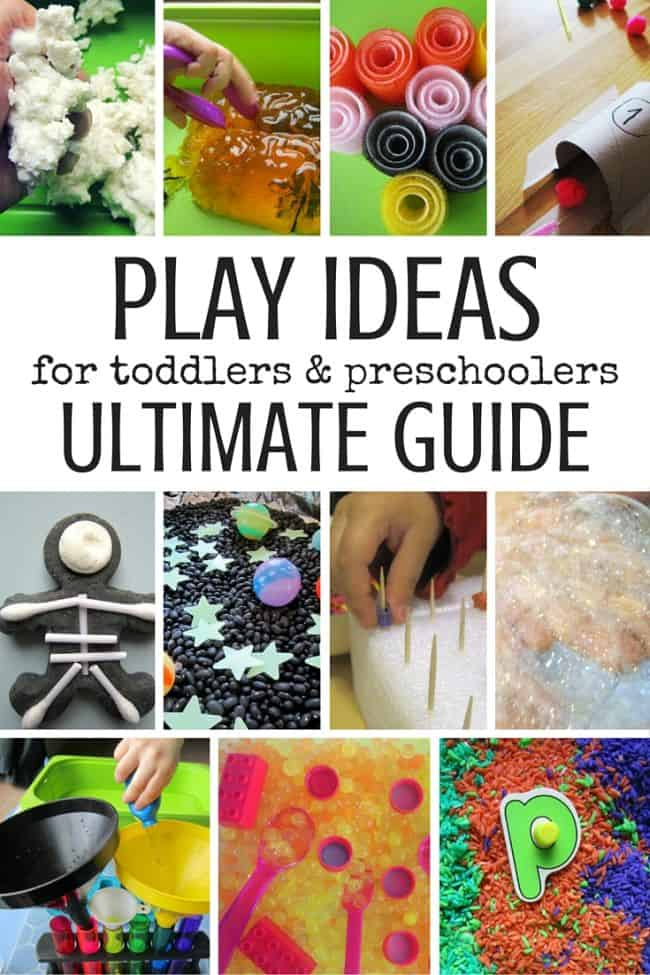 Best Toys 4 Toddlers - Ultimate Guide of Play Ideas for Toddlers and Preschoolers