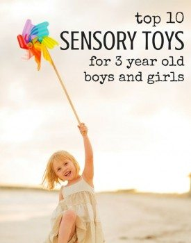 Best Toys 4 Toddlers - Best Selection of Top 10 Sensory Toys for 3 Year Old Boys and Girls (gender neutral)