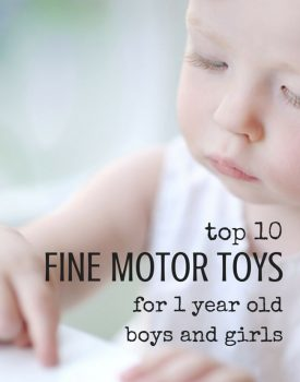 Top 10 Toys That Promote Fine Motor Skills for 1 Year Olds