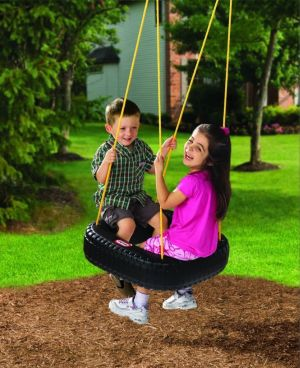 Best Toys 4 Toddlers - Top 10 Sensory Toys for 4 Year Olds - Tire Swing