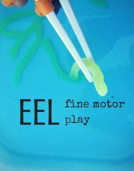 Eel Fine Motor Play