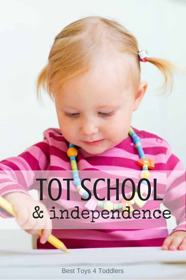 Best Toys 4 Toddlers - How tot school can help toddlers become more independent in daily routines