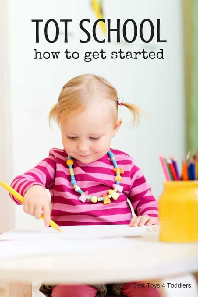 Best Toys 4 Toddlers - Basics for getting started with the Tot School -