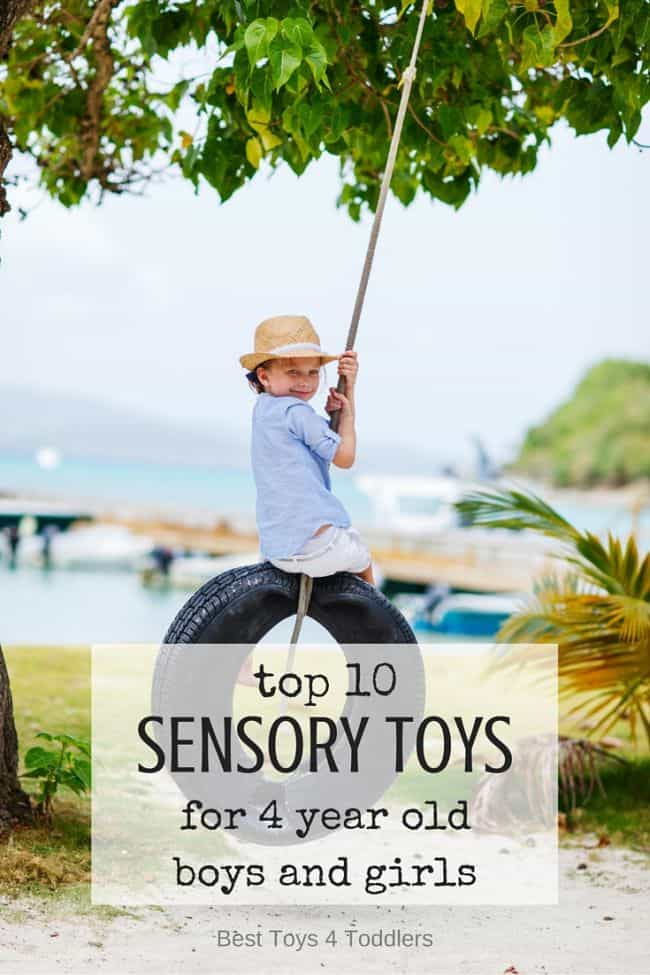 Best Toys 4 Toddlers - Best selection of sensory toys for 4 year old boys and girls (gender neutral)