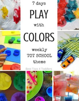 7 Days of Color Activities for Tot School