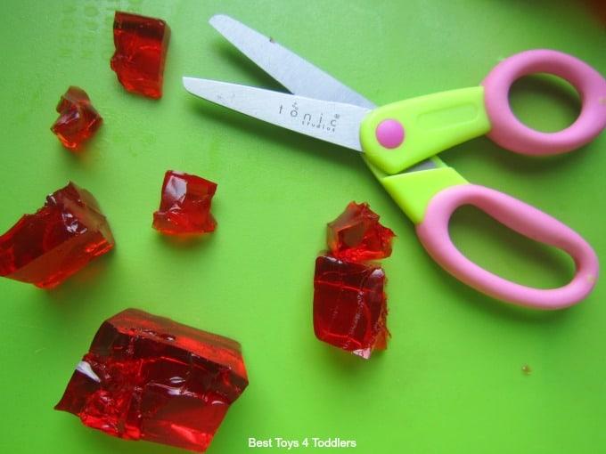 Alternative ways to teach scissor skills