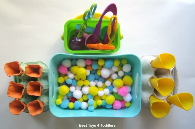 Ice cream fine motor play
