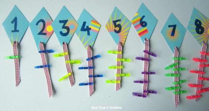 Number kites