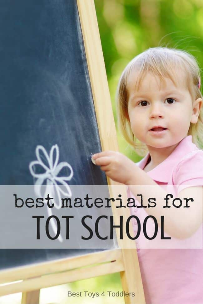 Best Toys 4 Toddlers - list of best materials to include in tot school
