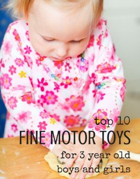 Top 10 Toys That Promote Fine Motor Skills for 3 Year olds