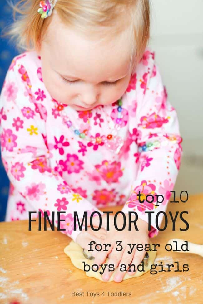 Best Toys 4 Toddlers - Top 10 toys that promote fine motor play for 3 year old boys and girls (gender neutral)