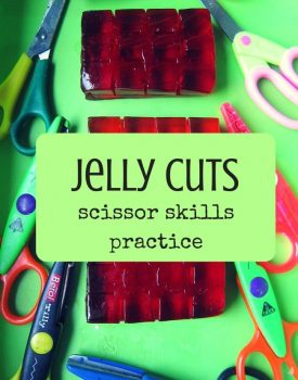 Jelly Cutting Fine Motor Play