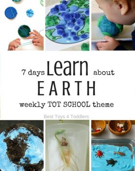 7 Days of Earth Activities for Tot School