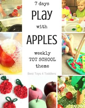 7 Days of Apple Activities for Tot School