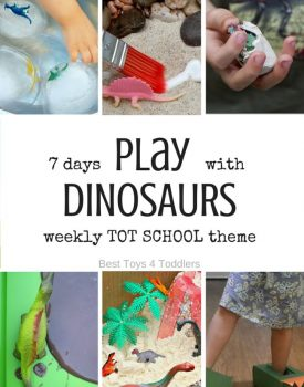 7 Days of Dinosaur Activities for Tot School
