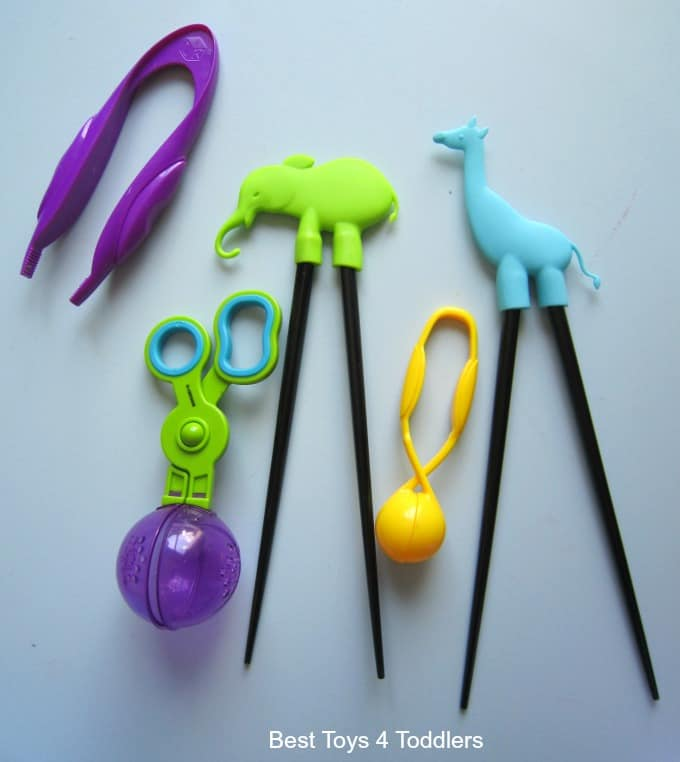 Fine motor tools for play