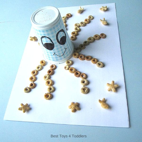 Best Toys 4 Toddlers - Octopus fine motor activity for toddlers and preschoolers, taste-safe.
