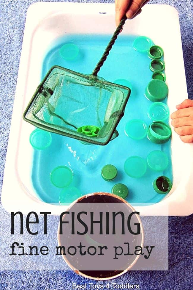 Net Fishing Fine Motor Play Best Toys 4 Toddlers