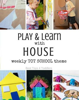 7 Days of House Themed Activities for Tot School