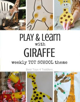 7 Days of Giraffe Themed Activities for Tot School