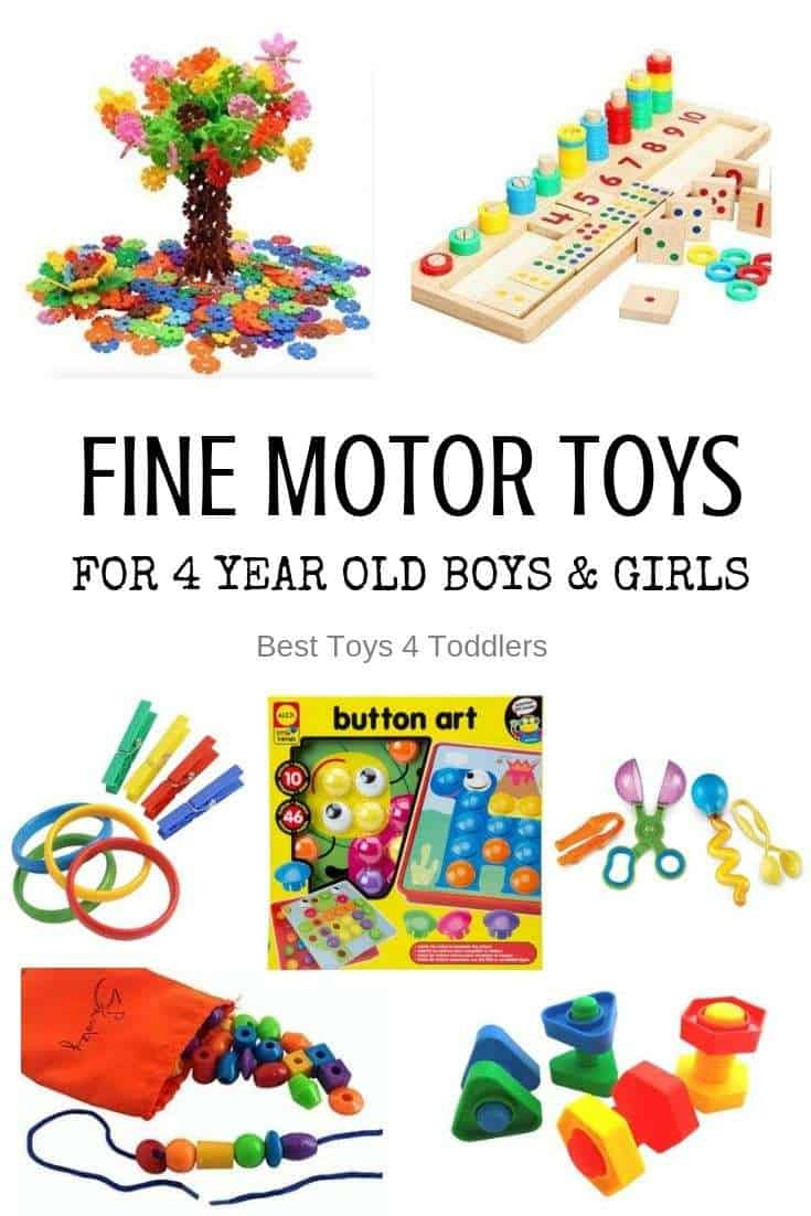 Best fine motor toys for 4 year old boys and girls