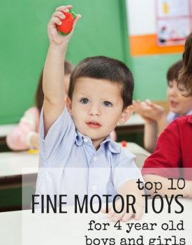 Top 10 Toys That Promote Fine Motor Skills for 4 Year olds