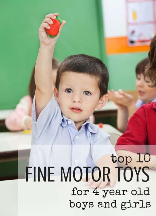 Best Toys 4 Toddlers - Top 10 toys to promote fine motor skills with 4 year old girls and boys (gender neutral)