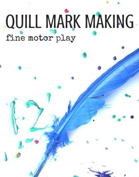 Quill Mark Making