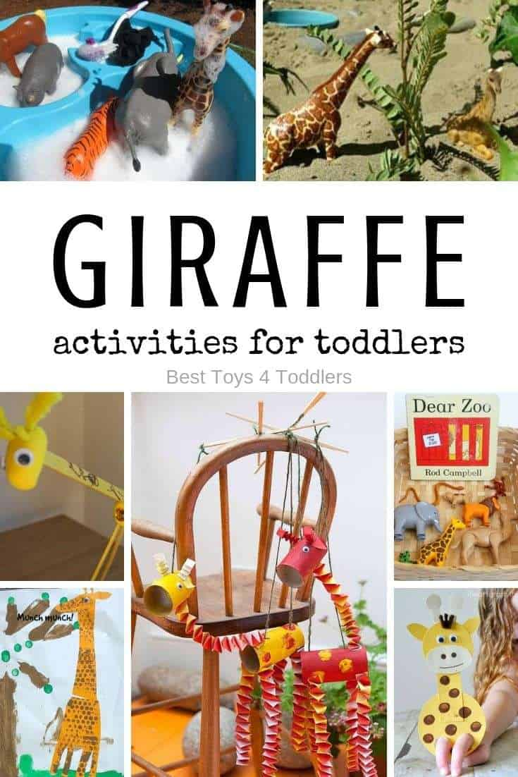 Tot school - letter G for giraffe activities for toddlers