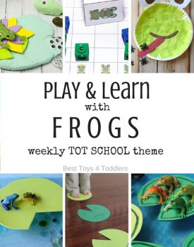 7 Days of Frog Themed Activities for Tot School