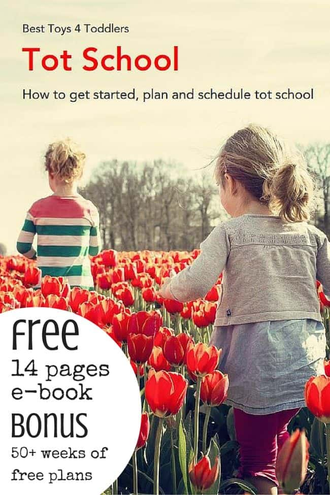 Best Toys 4 Toddlers - Tot school - everything you need to know to get started (free 14 page e-book)