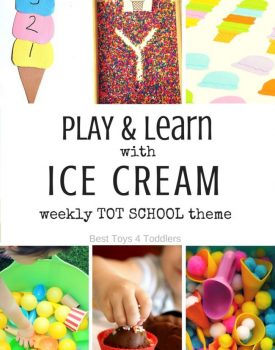 Ice Cream Theme for Tot School
